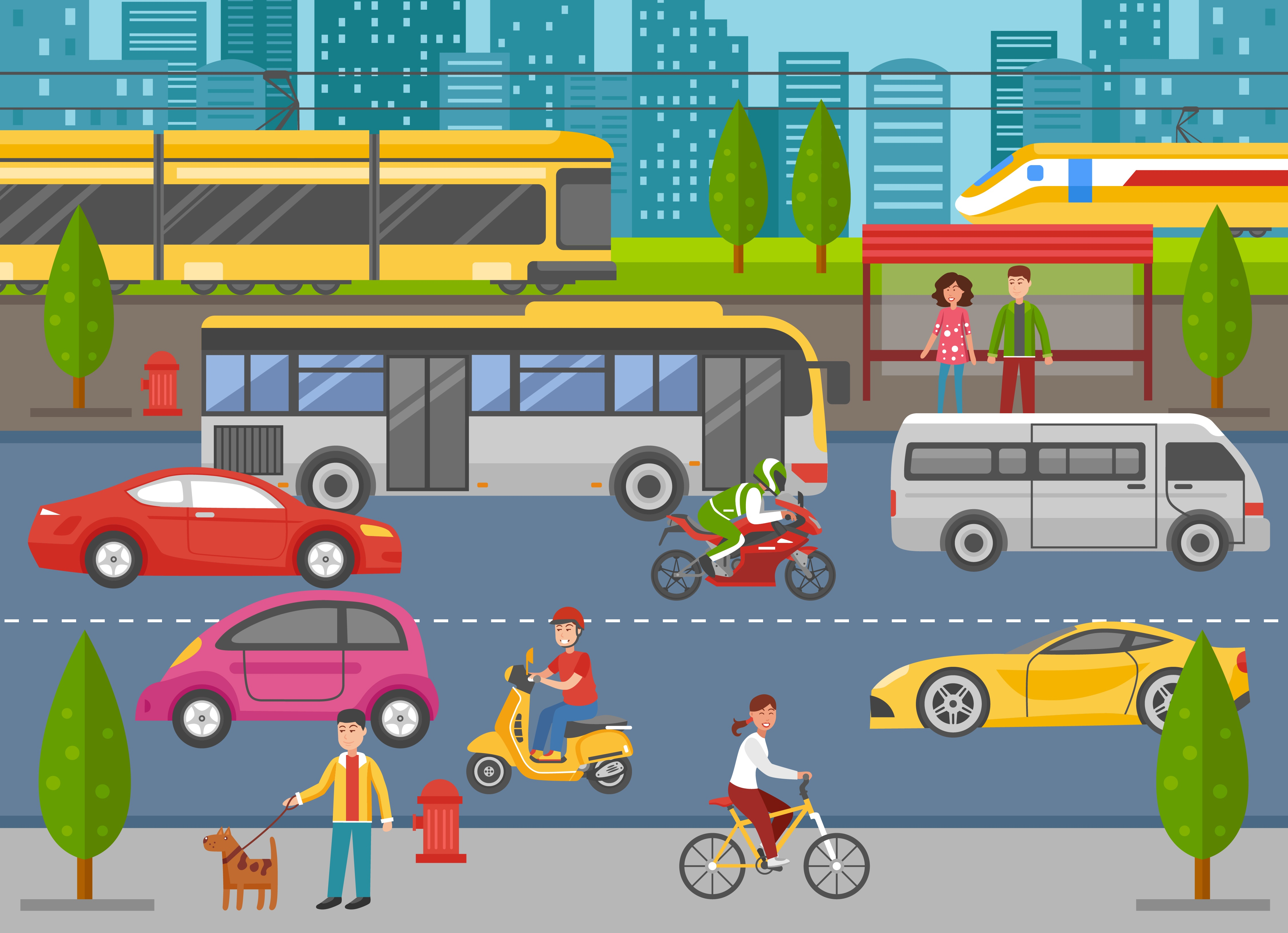 Smart City Dashboard: Improving Transportation and Mobility in