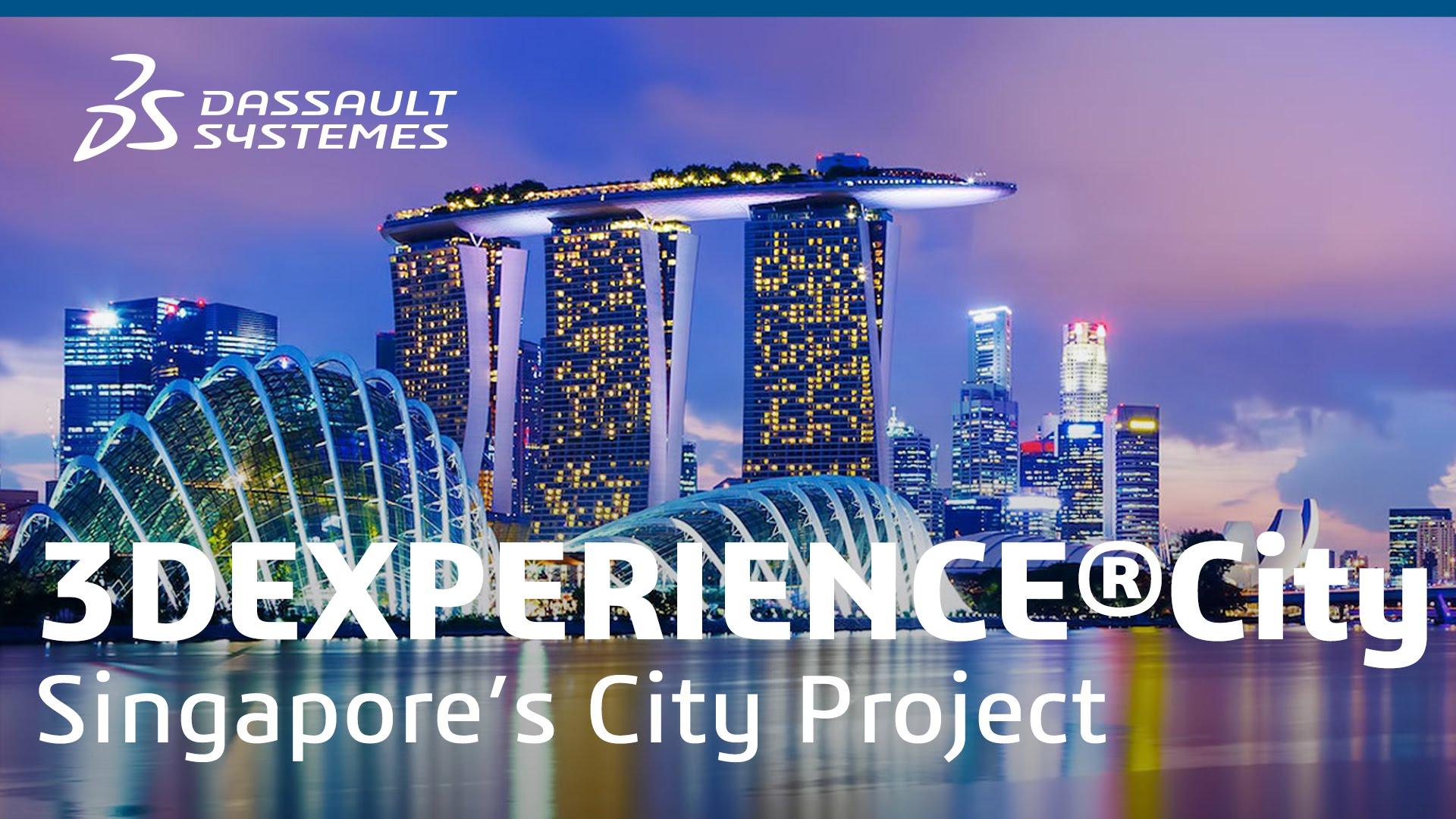 VIRTUAL SINGAPORE with 3DEXPERIENCity | AP South
