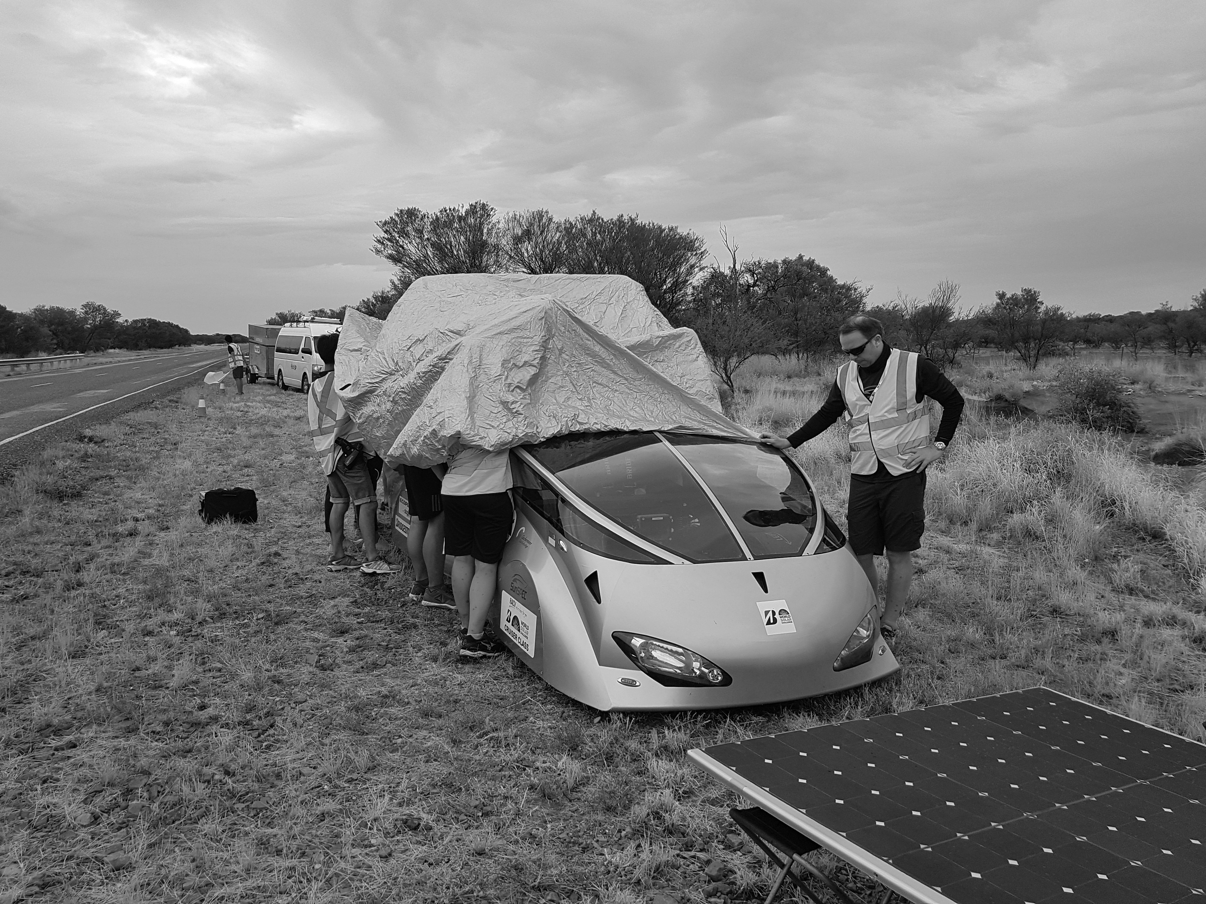 The SunSPEC5 unveiled at the 2017 World Solar Challenge