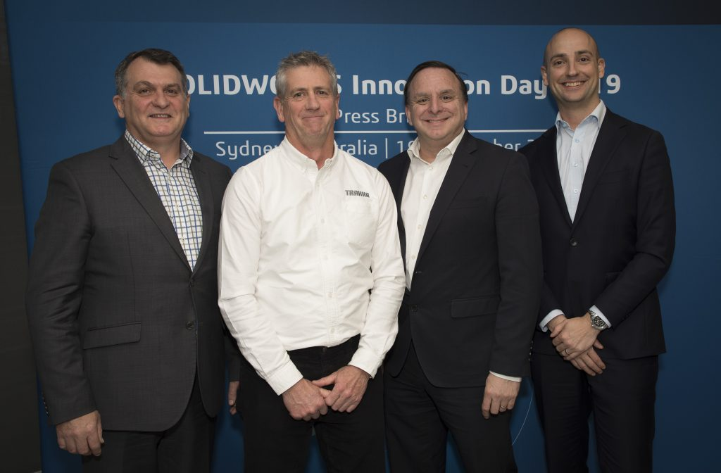 dassault systemes solidworks 2019 media tour kick off sydney