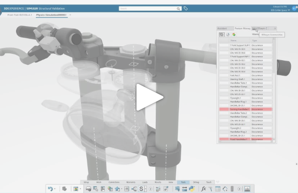 3DEXPERIENCE CATIA R2018x | Panel Stacking functionality