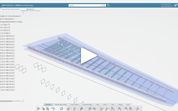 The Intelligence of Relational Design in CATIA 3DEXPERIENCE
