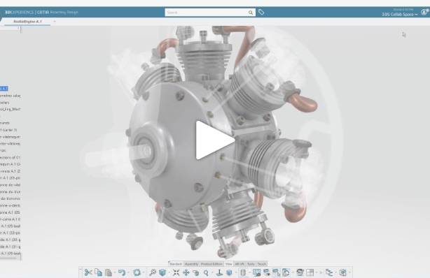 "3DEXPERIENCE CATIA R2019x | 3D View Filtering with new ""Discover"" Command"