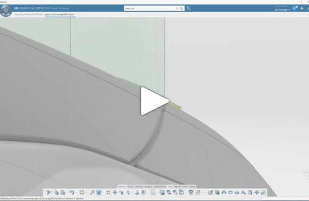 CATIA Design- Concept Modeling for Aerodynamics