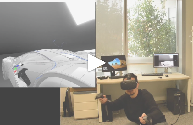 HTC Vive and the 3DEXPERIENCE Immersive Visual Experience