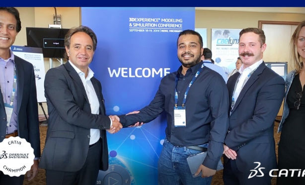 Shahaan Mansuri from Toyota becomes a CATIA Champion
