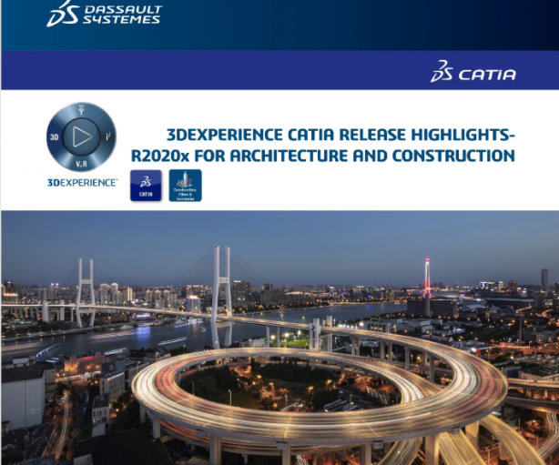 CATIA R2020X release for Construction, Cities and Territories is now available