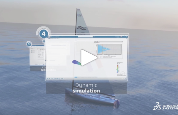 Finn mast project – Episode 4: Dynamic damping predictive behaviour of a composite structure
