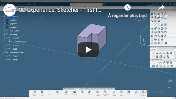 My initial impression of the new Sketcher in 3DEXPERIENCE
