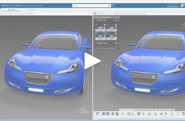 Getting Started with CATIA Product Perception Experience #2