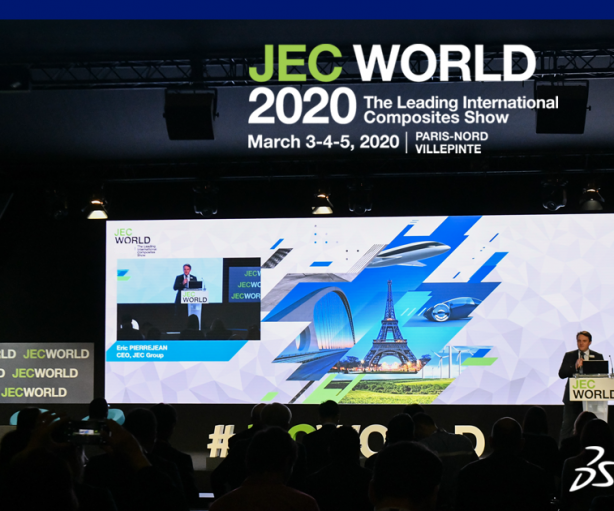 [EVENT] DASSAULT SYSTEMES CONFERENCE AT JEC WORLD 2020