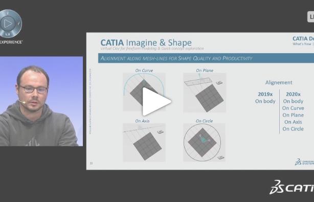 [WEBINAR Replay] What's new on CATIA Design 2020x Part 1 Creative Design