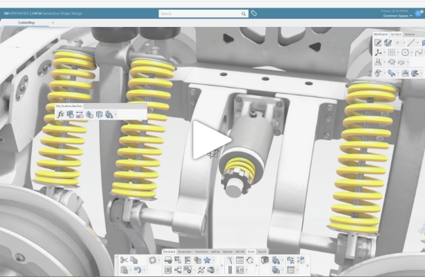 3DEXPERIENCE CATIA R2019x | Action Bar improvements for customization