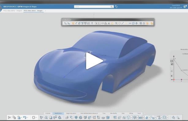 Webinar Replay – Whats new on CATIA Creative Design R2018X on the 3DExperience Platform