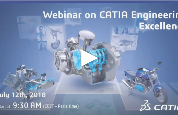 WEBINAR Registration – How to achieve Connected Engineering with CATIA V5