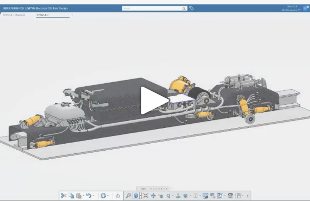 Webinar replay | Electrical 2D/3D Systems Design and Manufacturing