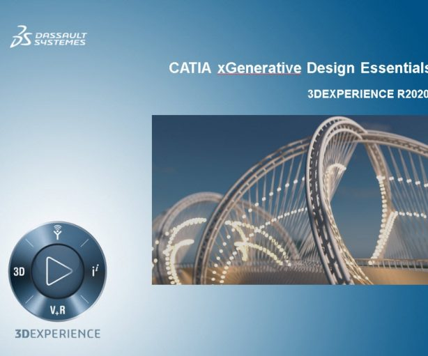 xGenerative Design training course available on learning space