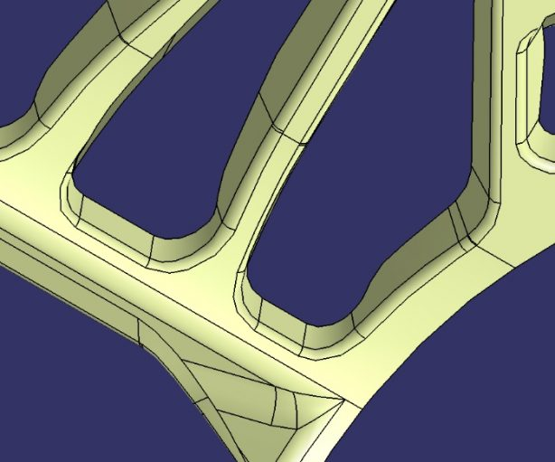 Keep Tangency Between Support Surface and Flange