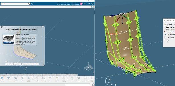 3DEXPERIENCE CATIA 2021x CLOUD COMPOSITE DESIGN