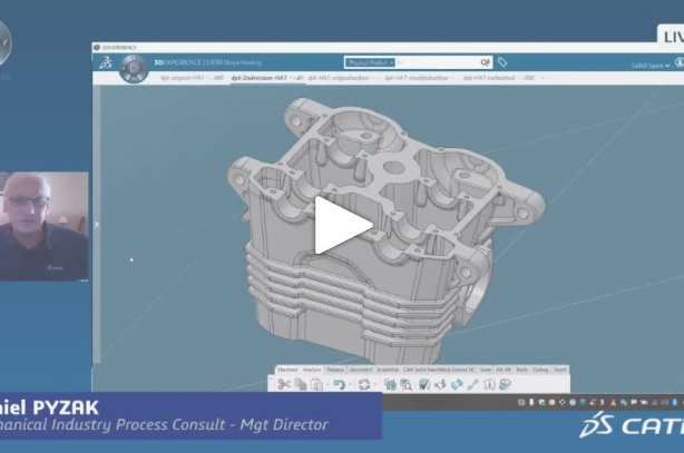 CATIA Jewel Talk #4: From Photo to Shape, Parts Comparison, Assembly Simplification