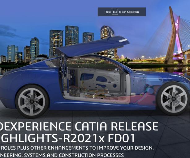 CATIA R2021X FD01 release !
