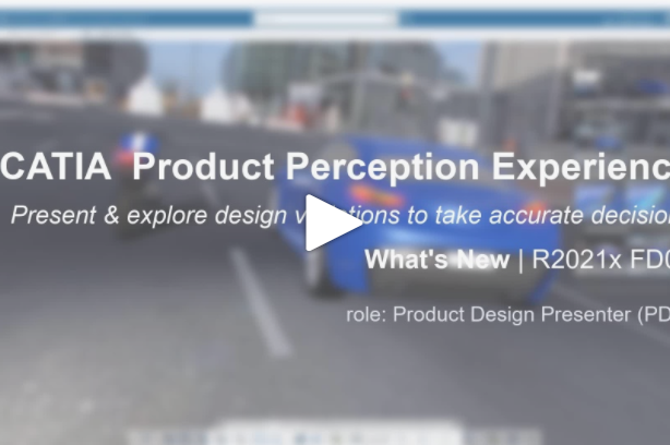 Kinematics animation replay now available in CATIA Product Perception Experience