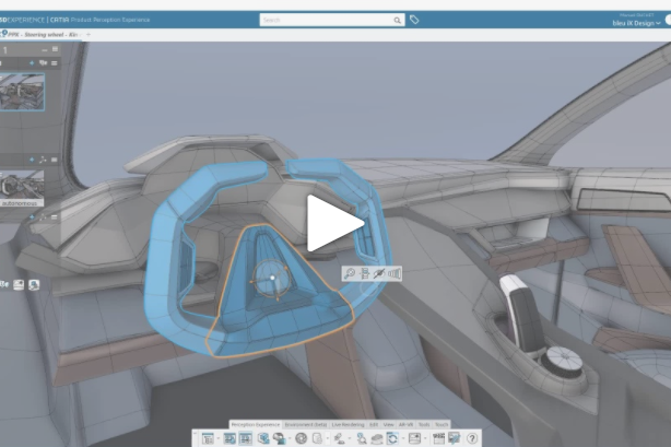 How to use geometrical sets and part bodies in CATIA Product Perception Experience