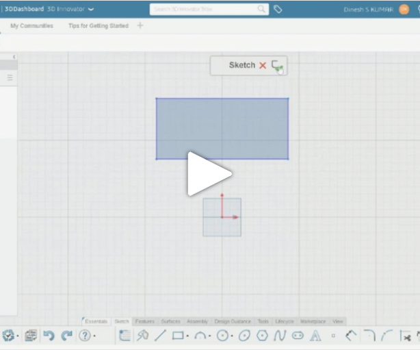 CATIA Talk | 3D Innovator #1: How to start from scratch with CATIA xDesign ?