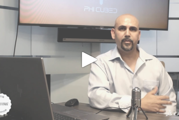 CATIA Champion Story from Hector Camps, CEO of PHI Cubed