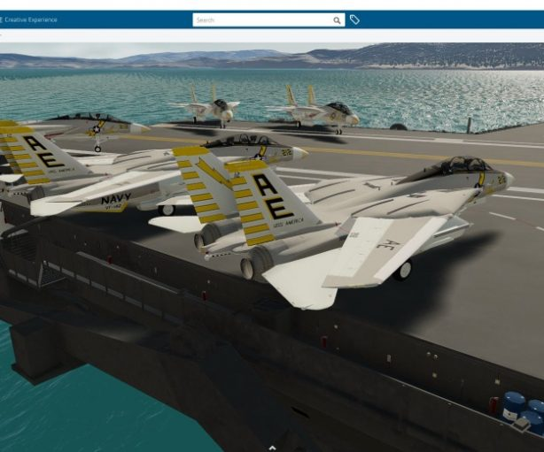 What if… this famous fighter jet had been designed using 3DEXPERIENCE CATIA?