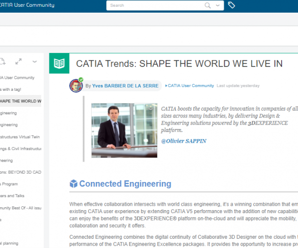 CATIA Trends: SHAPE THE WORLD WE LIVE IN