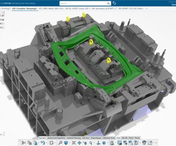 Lightweight Engineering | Stamping Die Process Optimization