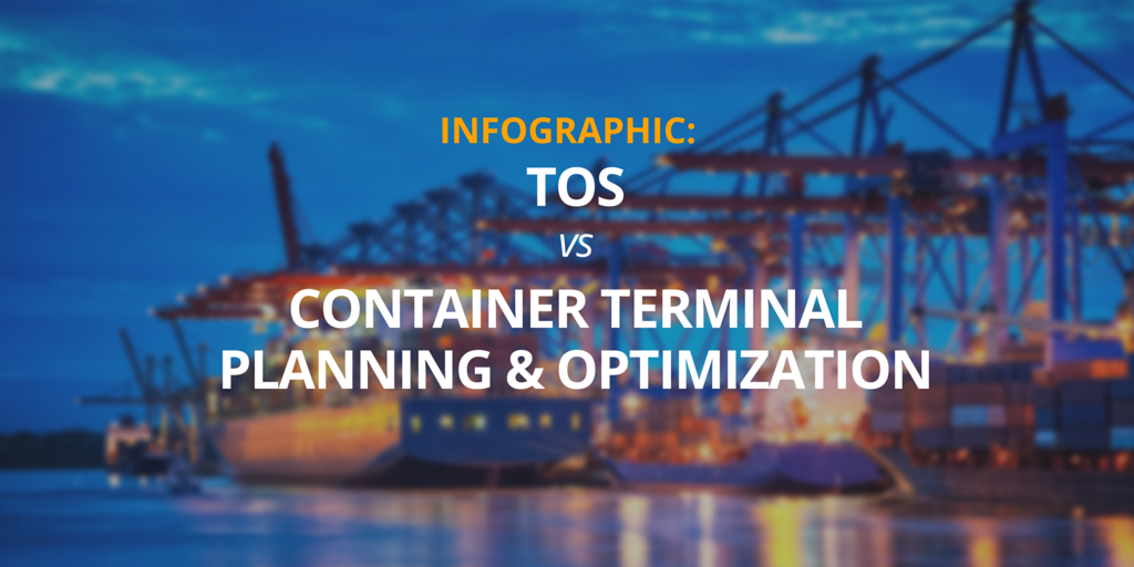 TOS vs Container Terminal Planning & Optimization