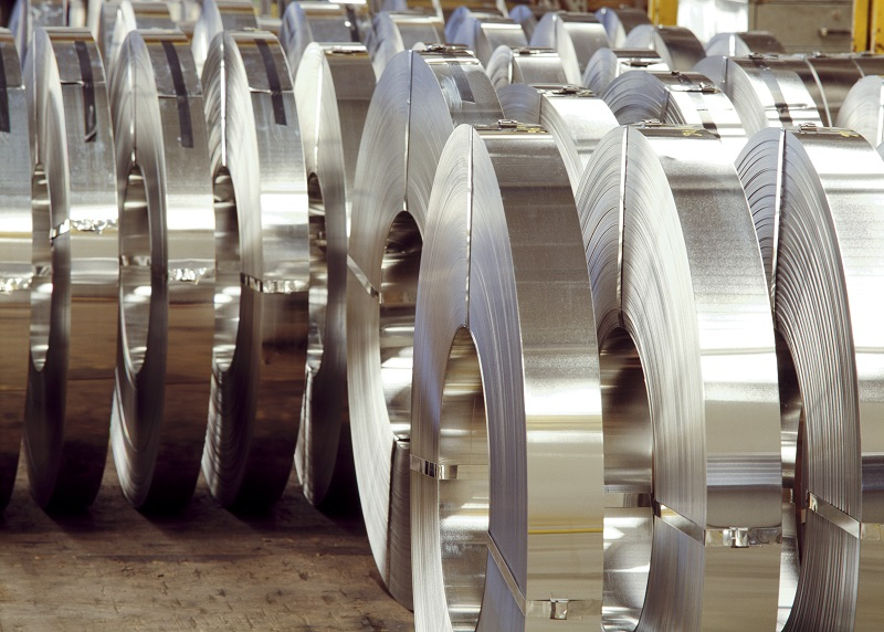 Roll Of Laminated Steel Coil