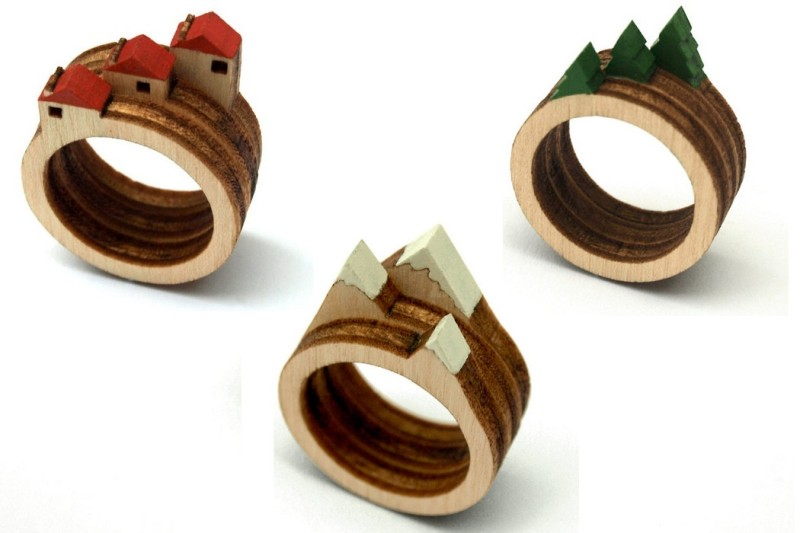 Laser-Cut-Wooden-Landscape-Ring-2