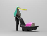 Sandal Colored 3D Image (3)