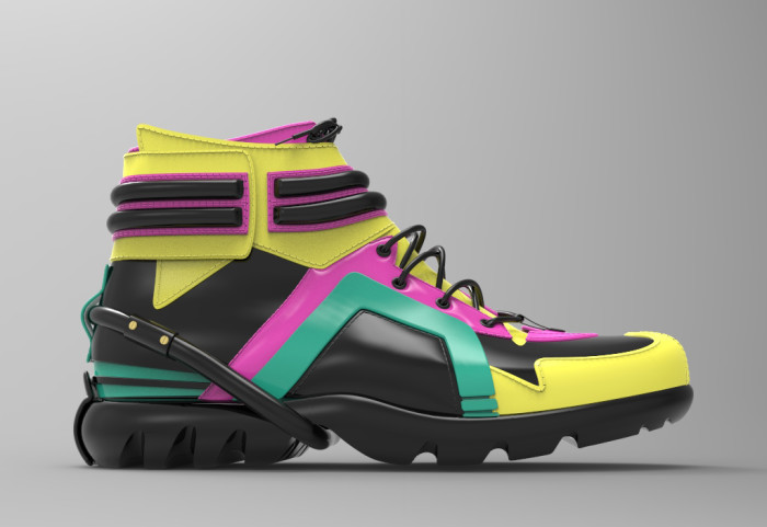 Sneaker colored 3D Image (1)