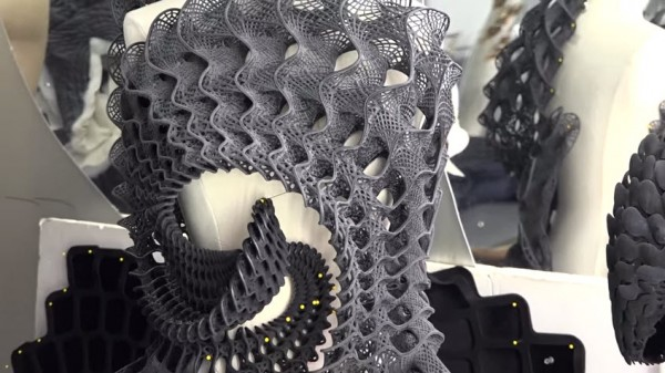 Stratasys 3d printed dress