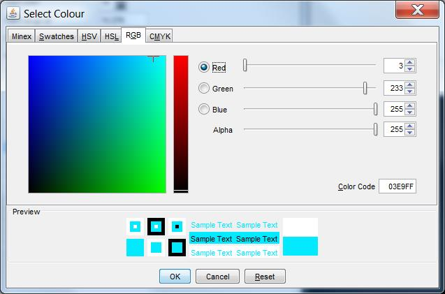 Creating A Unique Color Palette In Minex  Discover Model And