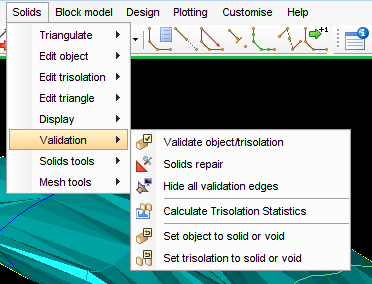 Why is Surpac so dogmatic about validation of solid models?