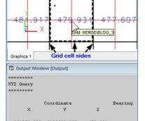 Grid Origin, Grid Display Lines & Grid Post in Minex