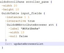 TCL Scripting in GEOVIA Surpac with Guido Tables