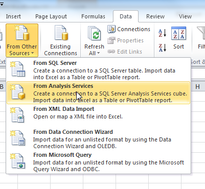 Tips | InSite - Using the InSite Datawarehouse Cube in Excel