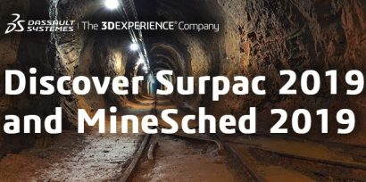 GEOVIA throws a one-two punch with the release of Surpac 2019 and MineSched 2019