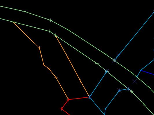 Converting historical 2D plans into Surpac 3DM solids