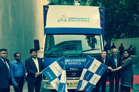 Dassault Systemes Flags off SME Roadshow 3DEXPERIENCE on WHEELS in Chennai