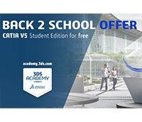 学生の皆様に向けた「CATIA V5 Student Edition」を発売!記念キャンペーンも実施中!