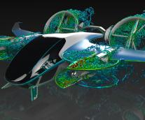 より静かな航空機や自動車。 より高効率な自動運転車両。~SIMULIA PowerFLOW 6-2019 Advanced Designのご紹介~