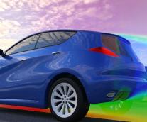 【WHY SIMULIA Fluid simulations? 】 -1自動車:空力性能