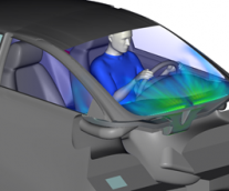 【WHY SIMULIA Fluid simulations? 】-3 自動車:車室内デフロスト/デミスト